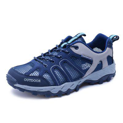 ZEACAVA Large Size Fashion Outdoor Breathable Men's Hiking Shoes