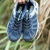 ZEACAVA Large Size Fashion Outdoor Breathable Men's Hiking Shoes - BLUE