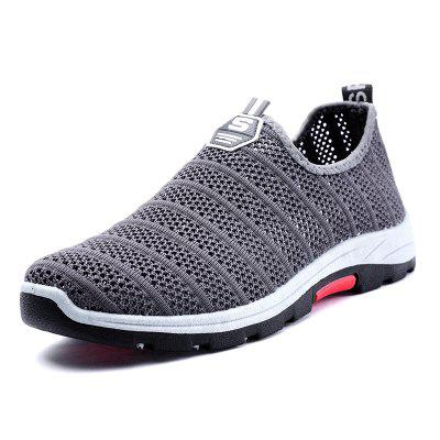 ZEACAVA Men's Fashion Casual Hollow Mesh Breathable Shoes