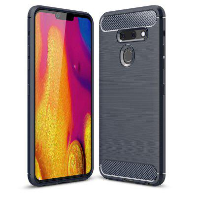 Luxury Carbon Fiber Soft Case for LG G8 ThinQ