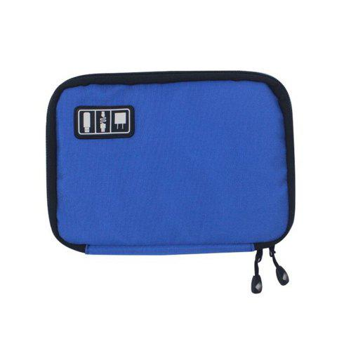 Fashion Multifunction Compact Storage Bag Practical Digital Data Cables Flash Drives Travel Case Waterproof Oxford Cloth Pouch