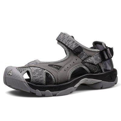 HUMTTO Outdoor Men 's Sandals Anti-collision Quick Drying Summer Beach Shoes