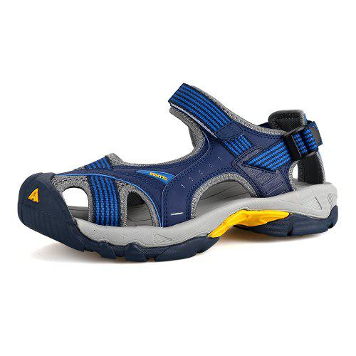96865d824 HUMTTO Outdoor Men  s Sandals Anti-collision Quick Drying Summer Beach Shoes