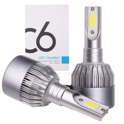 C6 Super Bright LED Headlight Set for Car