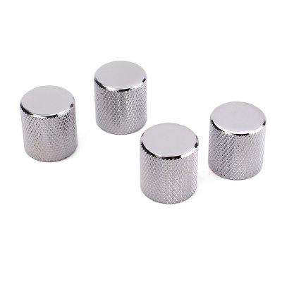 4 Pcs Electric Guitar And Bass Tone And Volume Metal Electronic Control Knobs