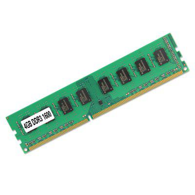 DDR3 4GB 1600MHz Memory 240 Pins for AMD Desktop Socket AM3 RAM