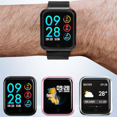 Smartwatch P68 Bluetooth Smartwatch IP68 impermeabile Monitoraggio della frequenza cardiaca