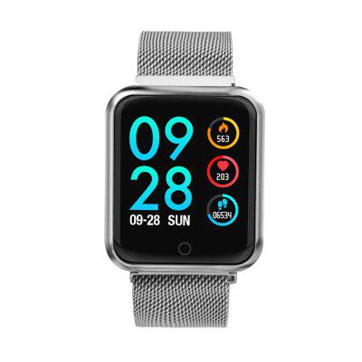 P68 Bluetooth Smartwatch IP68 Moniteur de fréquence cardiaque étanche Tracker Sports Tracker Montre intelligente