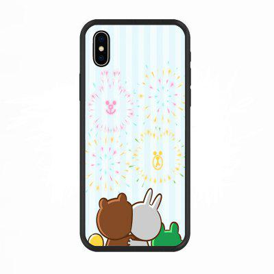 Watch Fireworks-Nano Scratch Resistant Mobile Phone Case for IPhone X