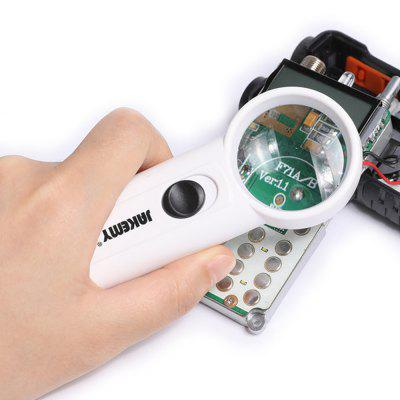 JM-Z19 LED 8X Magnifier ottico PC Cellphone Circuit Electronics Repair Tool