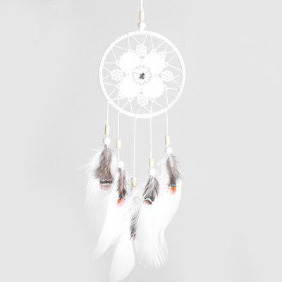 Svadobné Openwork Flower Dream Catcher Indoor visí
