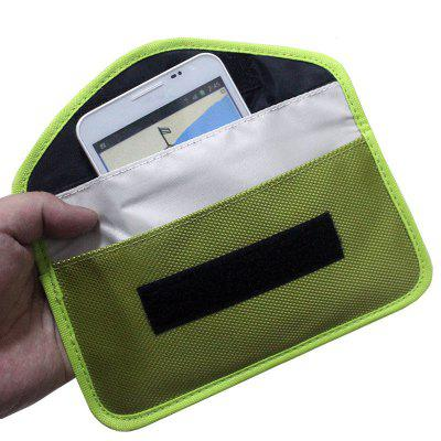 Portable Straling Protection Nylon Bag Pouch voor mobiele telefoon