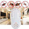 Atomic Ultrasonic Mosquito Pest Killer Lâmpada Inseto Barata Repeller Zapper - BRANCO