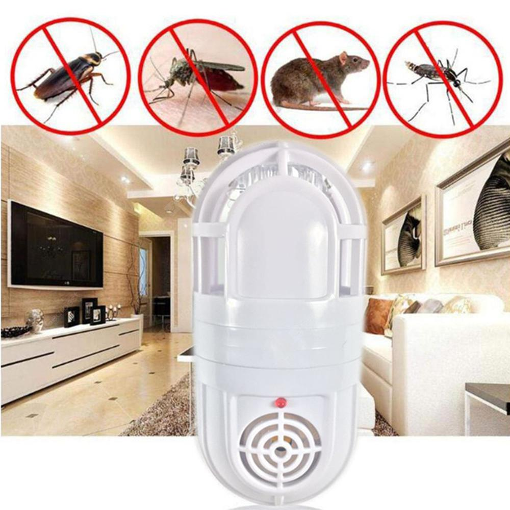 Atomic Ultrasonic Mosquito Pest Killer Lamp Insect Cockroach Repeller Zapper