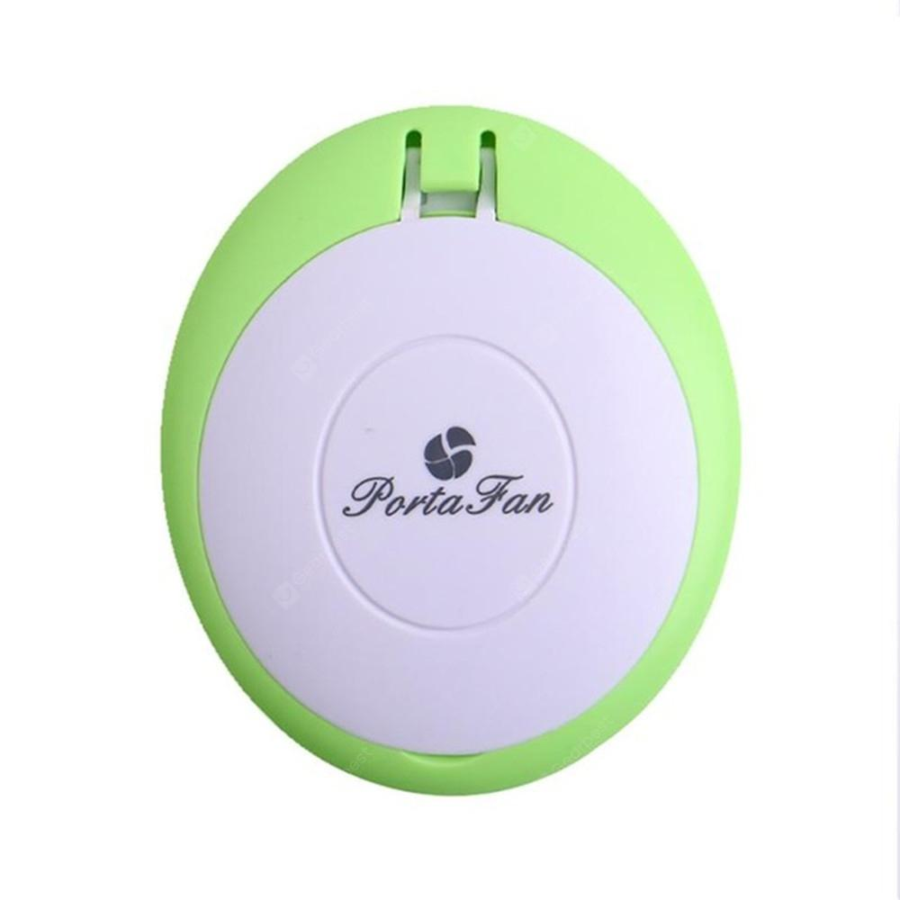 Mirror Fan USB Rechargeable Bladeless Storage Portable Handheld Makeup Tool