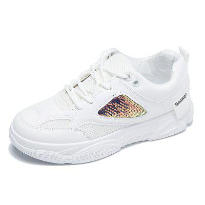 Fashion Sneakers White Shoes Womens Shoes