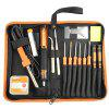 JAKEMY JM-P03 ELECTRIC SOLDERING IRON FLUX KIT DIY WELDING TOOL SET - BLACK