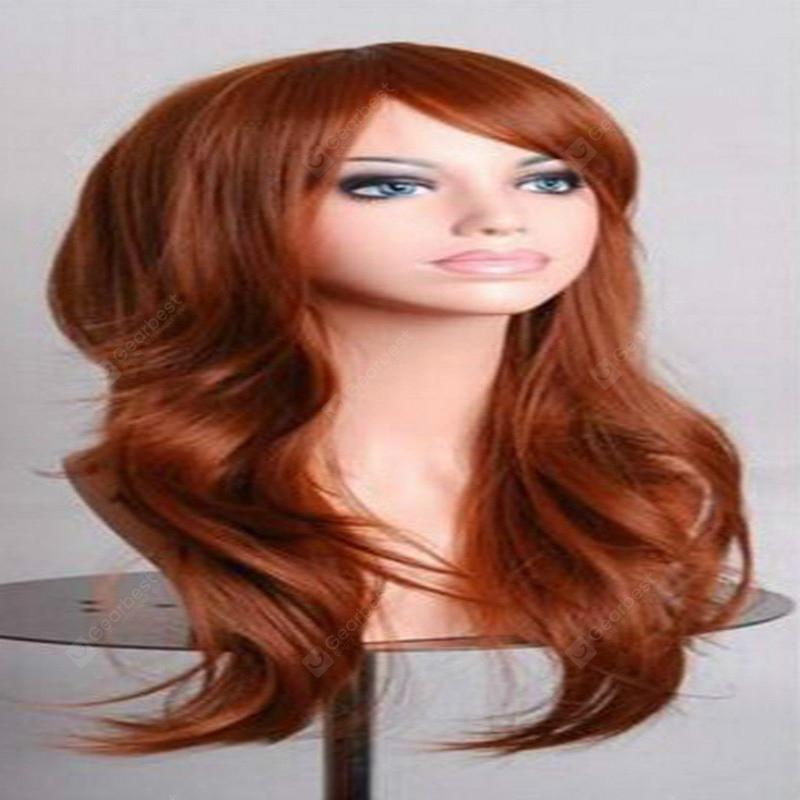 Cosplay Long Curly Hair High Temperature Silk Multicolor Curly Hair Anime Color