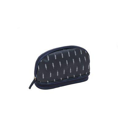 Travel Cosmetic Bag Portable Large Capacity Double Cosmetic Storage Bag