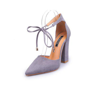 FurFaced WomenS Shoes With Thick Heels And Pointed Toes (buyiqiqi) Birmingham Ad Prokupka