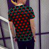 New Fashion Men'S Geometric Figure 3D Printed Short-Sleeved T-shirt - MULTI