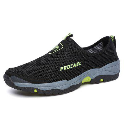 Sports Outdoor Mesh Breathable Hollow Lazy Shoes For Men