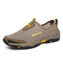 Gearbest Sports Outdoor Mesh Breathable Hollow Lazy Shoes For Men