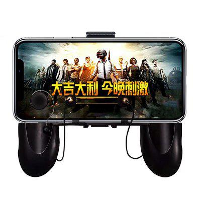 W12 Foldable Portable Mobile Game Controller L1 R1 Joystick Gamepad for PUBG