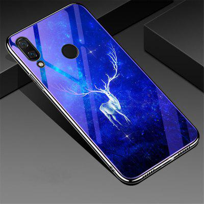 Plating Blue Light Tempered Glass Cover Case for Xiaomi Redmi Note 7