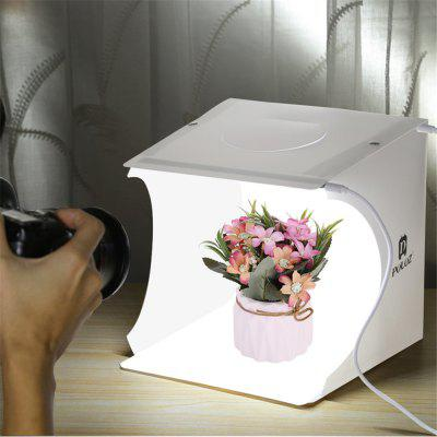 Mini Portable Sechs Farben Folding Lightbox Fotografie Studio LED Light Softbox