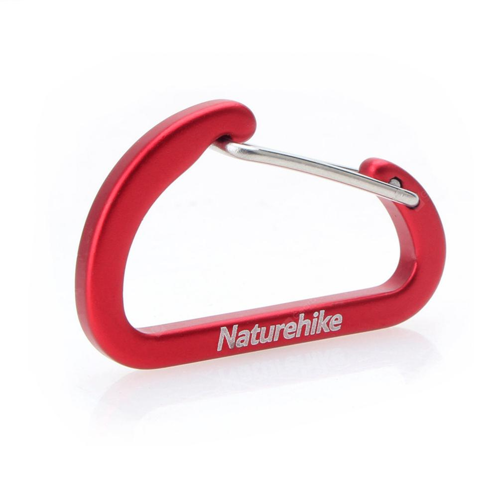 Naturehike Outdoor Multi-functional Mountaineering Hook Fast Hanging 4cm Red