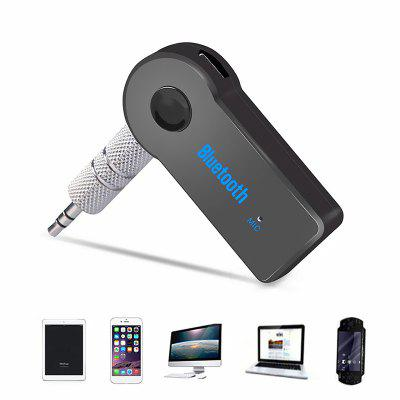 Bluetooth Car Handsfree Audio Music Receiver with Microphone