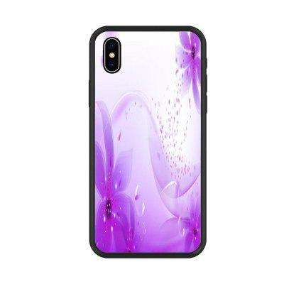 Cool violet series   Organic Nano Scratch Resistant Mobile Phone Case