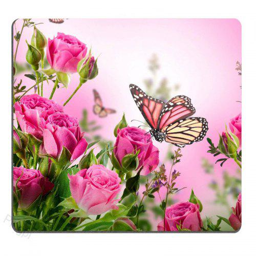 Red Flowers Tree Anti-Slip Laptop Rubber Speed Extra Large Gaming Mouse Pad Mat
