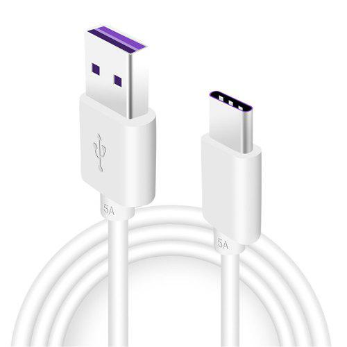Minismile 5A USB Type-C Super Fast Charge Sync Data Cable for Huawei / Samsung