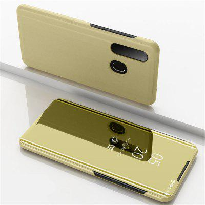 Flip met Stand Mirror Full Body Cover Case voor Samsung Galaxy A8S