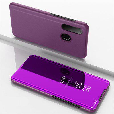 Flip with Stand Mirror Full Body Cover Case for Samsung Galaxy A8S