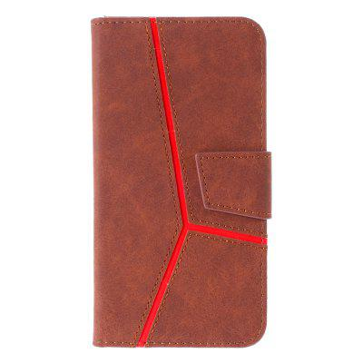 Cover Fashion PU Leather Book Flip Design Phone Case for Samsung Galaxy A5 2018