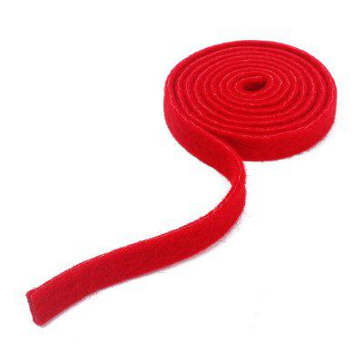 Practical Piano Tuning Felt Temperament Strip Tapered Mute Tools Accessories Red