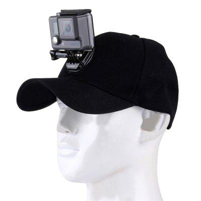 Support de caméra pour Go Pro Xiaoyi Action Camera Accessories Casquette de baseball
