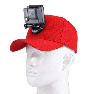 PULUZ Camera Bracket voor Go Pro Xiaoyi Action Camera Accessoires Baseball Hat