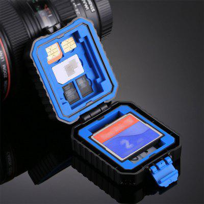 PULUZ Waterproof Micro SD CF TF Holder Protection Storage Box Memory Card Case
