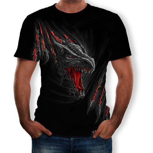 T shirt Men's Monsters Trends De Fashion Manches S Courtes Imprimé 3d MenMulti New À Figure qSUzGpMV