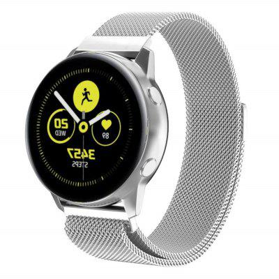 Magnetické Milanese Loop Strap Quick Release Band pro Samsung Galaxy Watch Aktivní