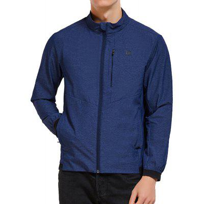 HUMTTO Men'S Stretch Clothing Light Breathable Splash-Proof Casual Sports Jacket