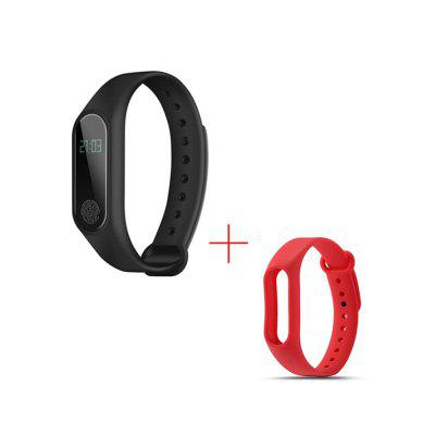 V6 M2 Fashion Healthy Heart Rate Waterproof Movement Step Smart Watch