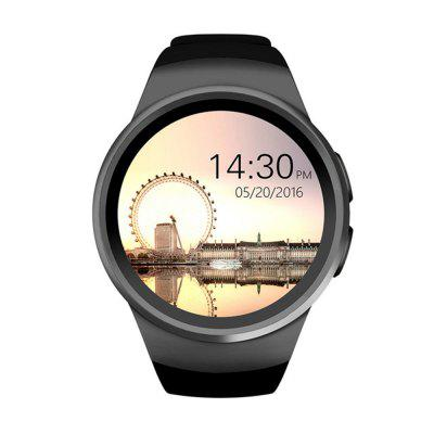 KW18 SIM TF Card Bluetooth Call Heart Rate Pedometer Sport Modes Smartwatch Image