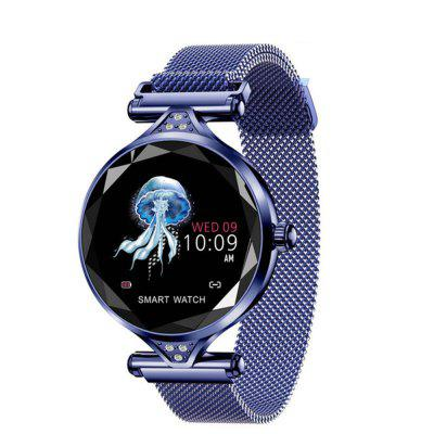 V6 H1 Women Heart Rate Blood Pressure Fitness Pedometer Waterproof Smartwatch Image