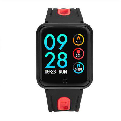 P68 Blood Oxygen Pressure Heart Rate Monitor Activity Tracker Fitness Smartwatch Image