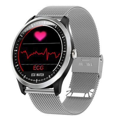 V6 N58 ECG PPG Electrocardiograph Ecg Holter Ecg Heart Rate Monitor Smartwatch Image
